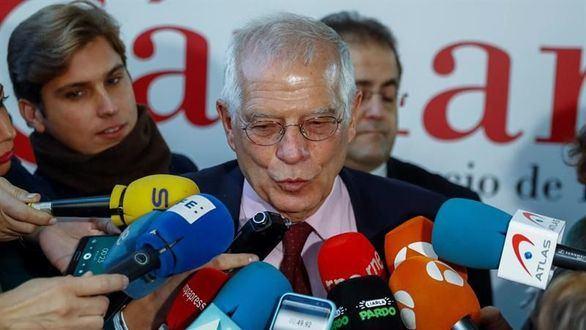 Borrell descarta dimitir: 'No tendría mucha lógica'