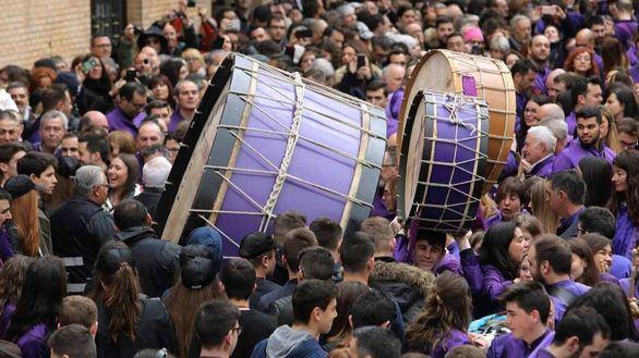 Las tamboradas, Patrimonio Cultural Inmaterial de la Unesco
