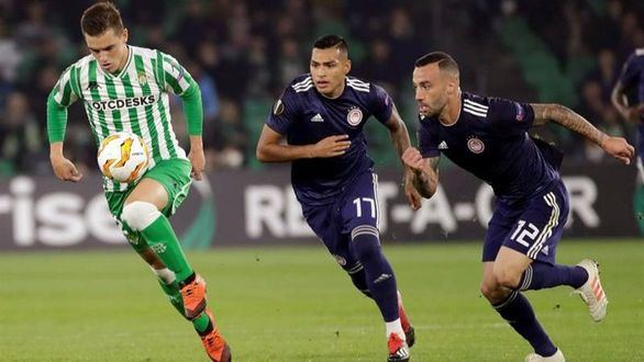 Europa League. El Betis sufre y gana al Olympiakos para pasar de ronda   1-0