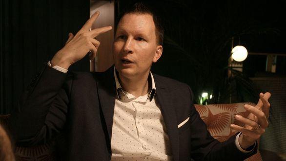 Lasse Rouhiainen, durante la entrevista con este periódico.