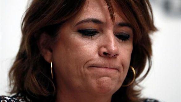 La ministra de Justicia, Dolores Delgado, este martes.