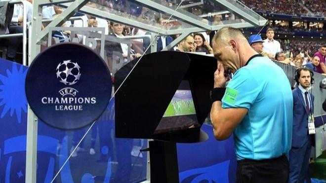 La UEFA implantará el VAR desde los octavos de final de esta Liga de Campeones