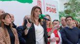 La presidenta andaluza en funciones y secretaria general del PSOE-A, Susana Díaz.