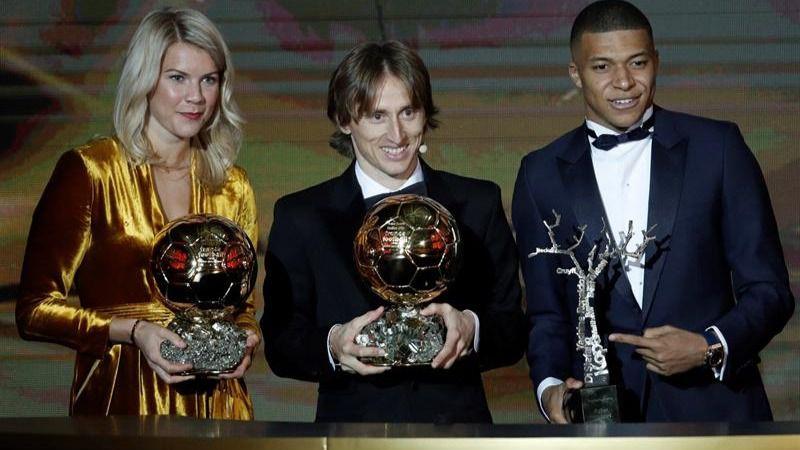 Balón de Oro. Luka Modric se corona como el mejor jugador de 2018