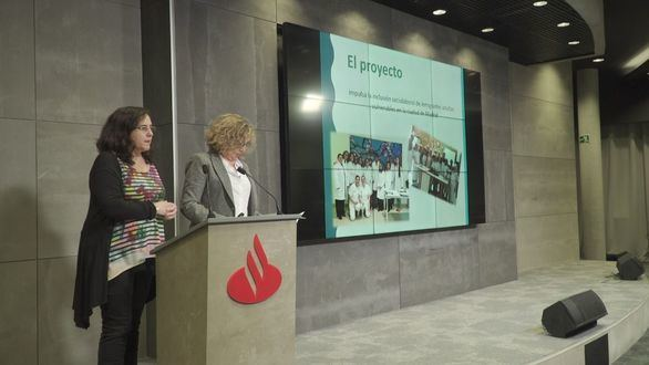 Santander financia diez proyectos de inserción socio-laboral