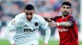 El Valencia evita el liderato del Sevilla en el descuento | 1-1