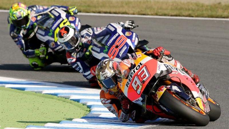 MotoGP. Valentino Rossi se queja del monopolio español