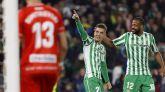 El Betis hunde al Rayo y se aproxima a los puestos europeos | 2-0