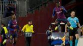 Dembelé, puntual con el gol, alegra el empate del Barcelona |1-1