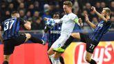 El Inter se la pega en casa ante el PSV y se cae de la Champions | 1-1