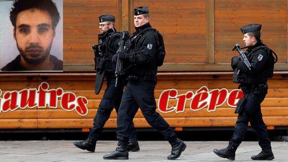 Continúa la búsqueda del yihadista de Estrasburgo