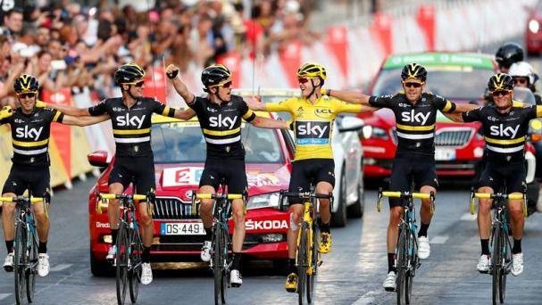 Tour. El Sky se baja del ciclismo en pleno cerco al presunto dopaje estructural británico
