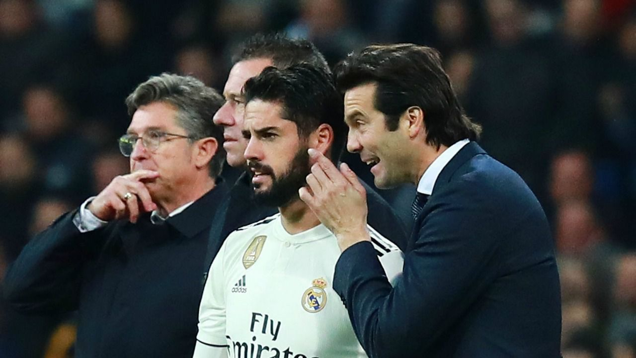 El jaque de Isco a Santiago Solari, al Real Madrid y a sí mismo