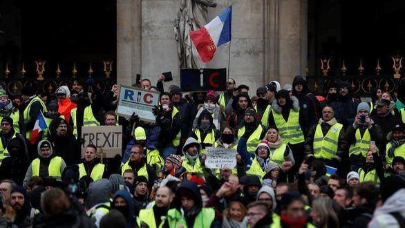 Cerca de un centenar de detenidos en París en las protestas de los