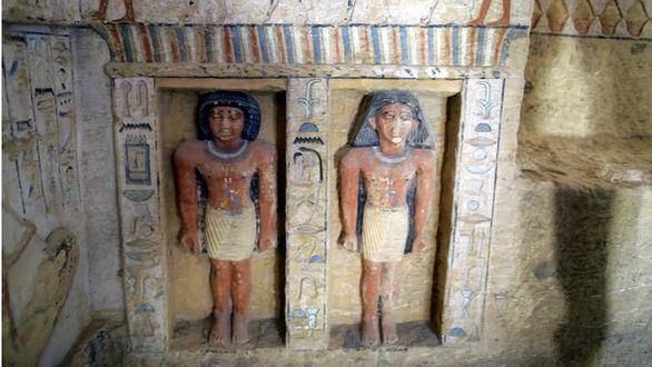Egipto desvela una tumba de hace 4.400 años muy bien conservada