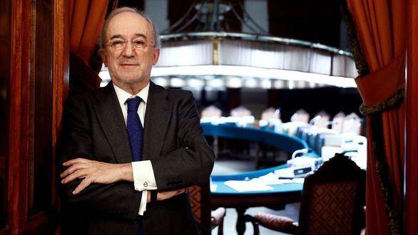 El jurista Santiago Muñoz Machado tras ser elegido hoy nuevo director de la Real Academia Española.