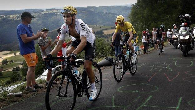Tour. Movistar divide para vencer: la fórmula para diluir la batalla de egos entre Landa y Quintana