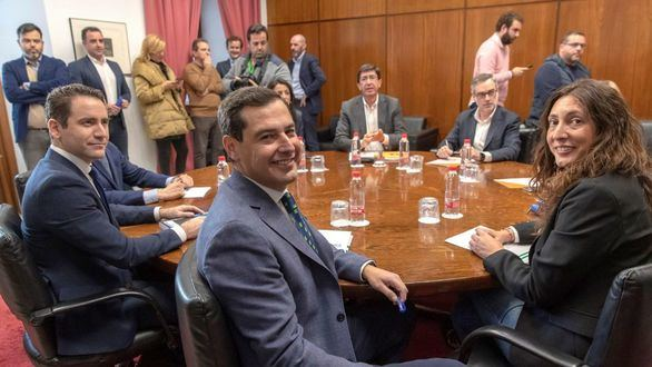 Acuerdo entre PP y Cs para gobernar la Junta de Andalucía