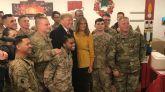 Visita sorpresa de Trump a las tropas en Irak