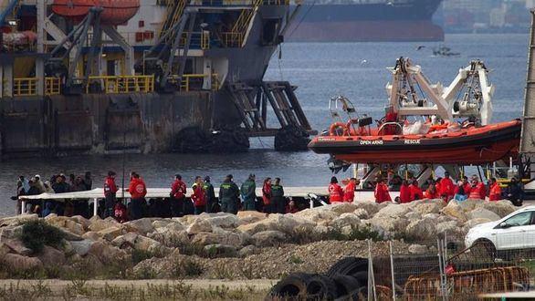 En torno a 500 inmigrantes han arribado a las costas de España desde el viernes