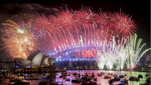 Australia y Nueva Zelanda ya celebran el 2019 con un despliegue pirotécnico