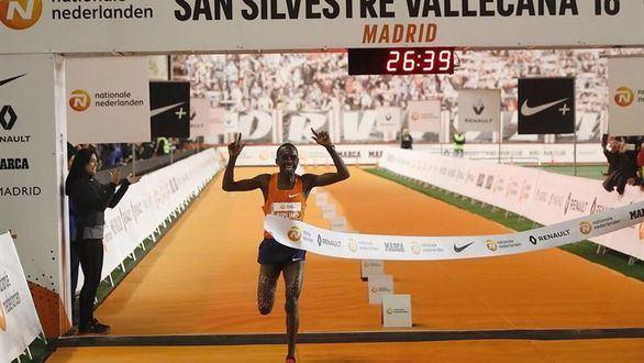 San Silvestre. Kiplimo y Kosgei se imponen en Vallecas con récords