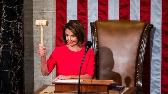 Pelosi, azote de Trump, nombrada nueva presidenta de la Cámara Baja