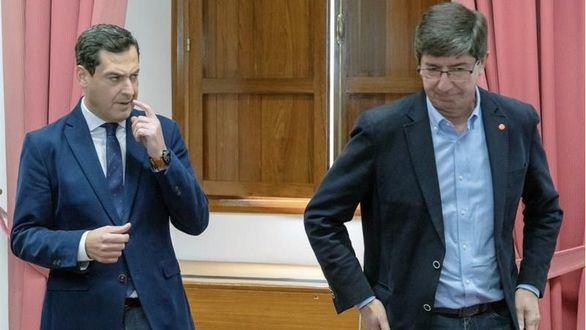 El PP se acerca a Vox para desatascar la situación en Andalucía