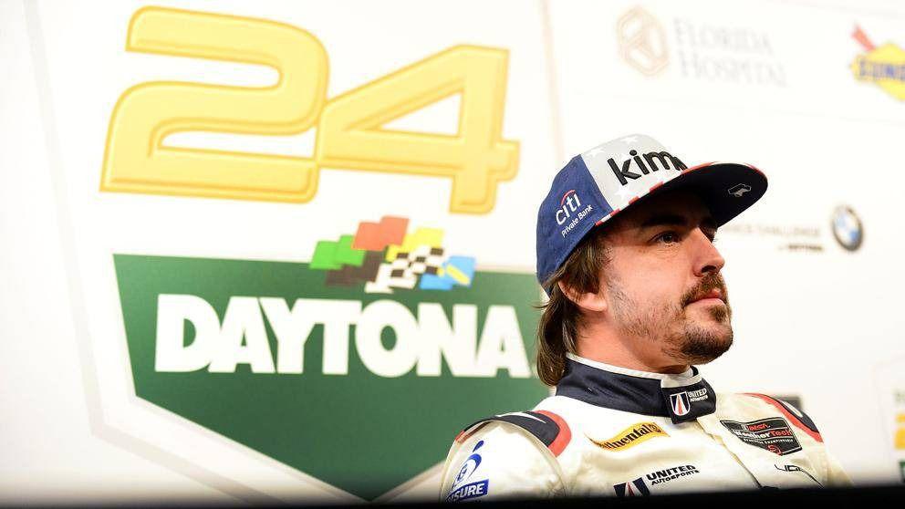24 Horas de Daytona. Fernando Alonso ya calienta motores y se confiesa hambriento