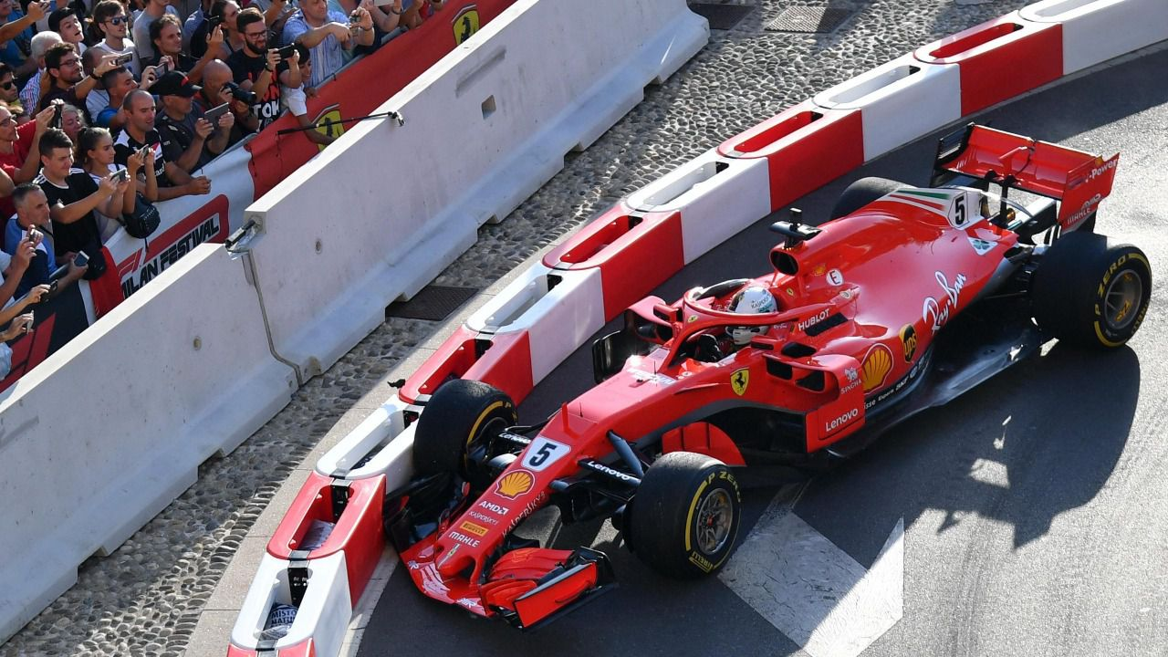 Fórmula Uno. El paseo por al abismo de Sebastian Vettel en Ferrari