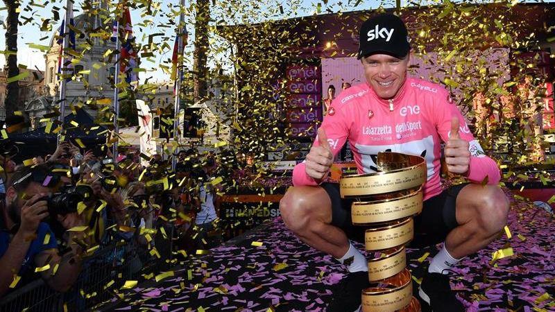 Tour. Chris Froome se baja del Giro y atraganta a Geraint Thomas