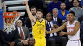 Klay Thompson y los Warriors recuperan su magia, pero los Nuggets aguantan