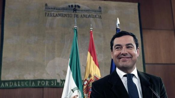 Juanma Moreno, único candidato, será investido la próxima semana