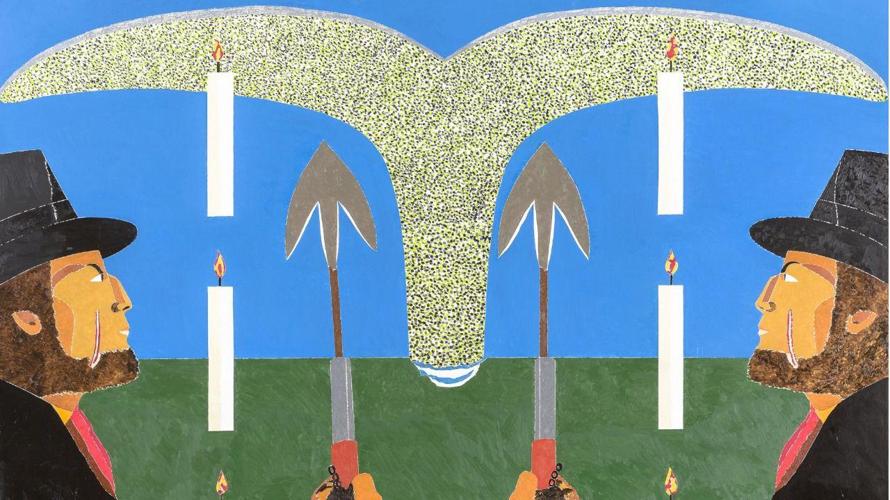 Una exposición póstuma de Eduardo Arroyo muestra sus últimas 38 obras