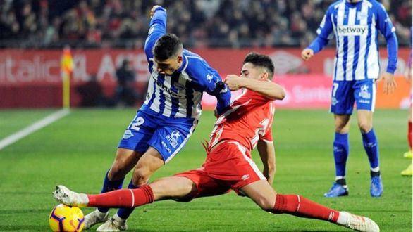 Girona y Alavés se reparten puntos en Montilivi  1-1