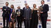 El equipo de la película 'Campeones' en los premios Forqué.