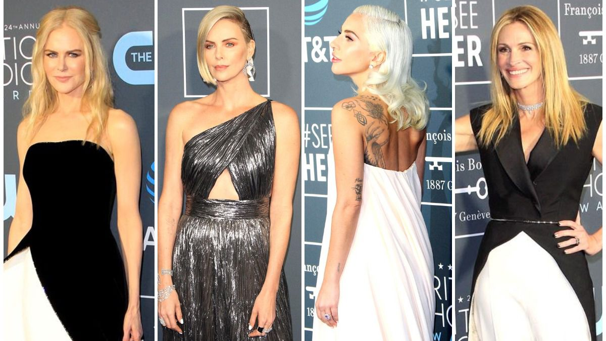 La alfombra roja de los Critics Choice Awards