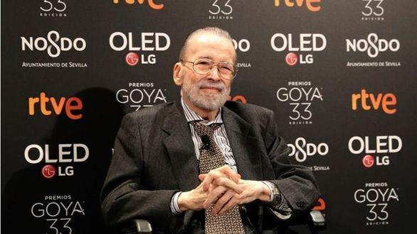 Chicho Ibáñez Serrador recibe el Goya de Honor en la fiesta de nominados