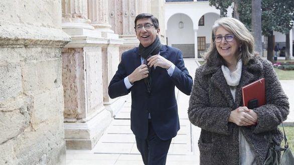 Juan Marín cree que lo dicho por Moreno es lo pactado con Cs
