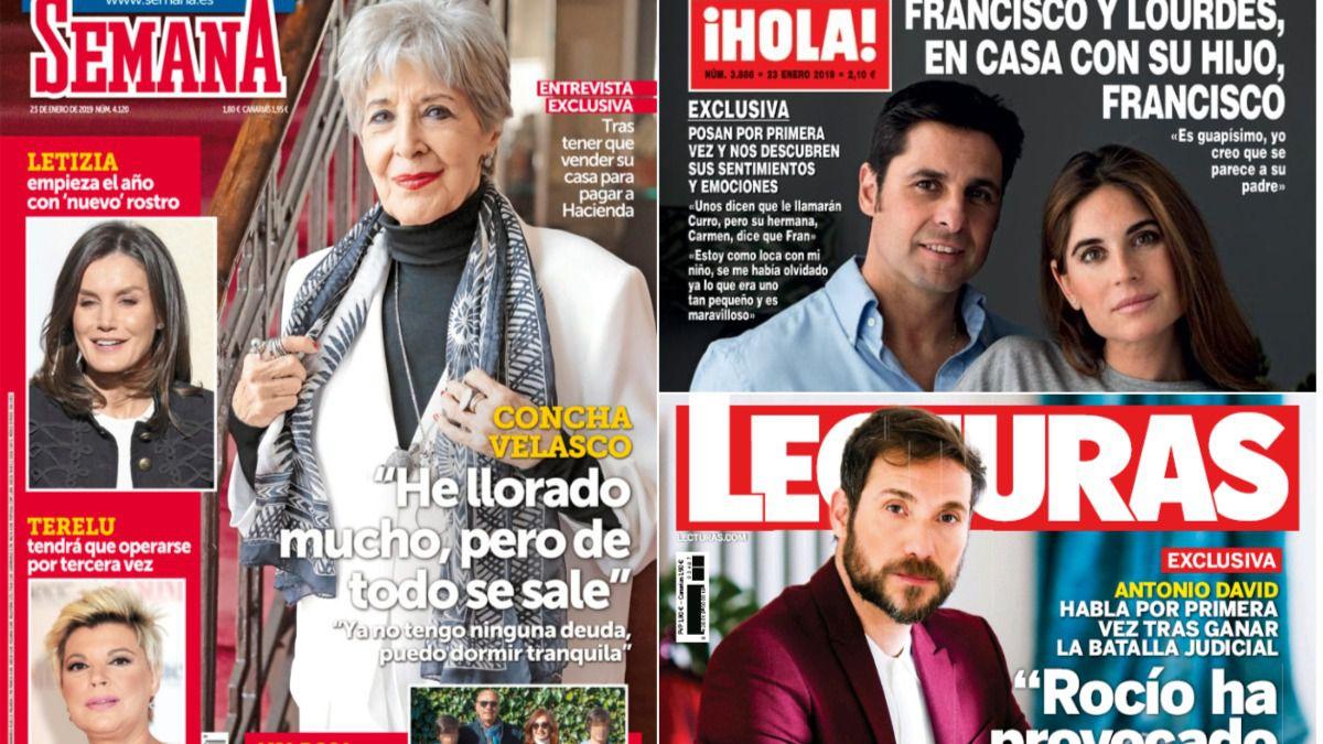 Concha Velasco se sincera sobre sus deudas: