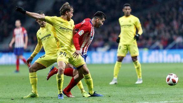 El Girona da la campanada en el Metropolitano y elimina al Atlético en Copa  3-3