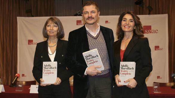 De izquierda a derecha: Mercedes Lezcano, Pedro Víllora y Blanca Marsillach.