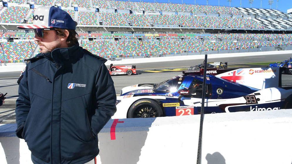 24 Horas de Daytona. Fernando Alonso se resigna a salir desde la sexta plaza