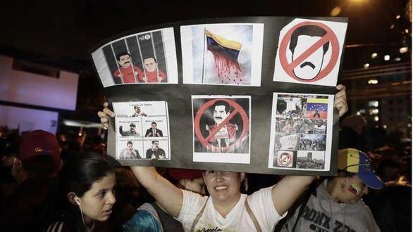 Guaidó no descarta una futura amnistía para Maduro