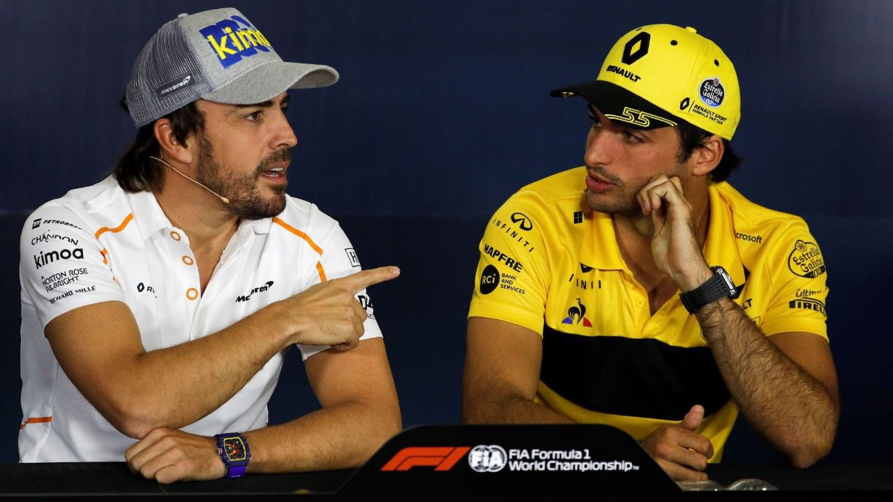 Fórmula Uno. McLaren da la bienvenida a Carlos Sainz con una guía de 'supervivencia'