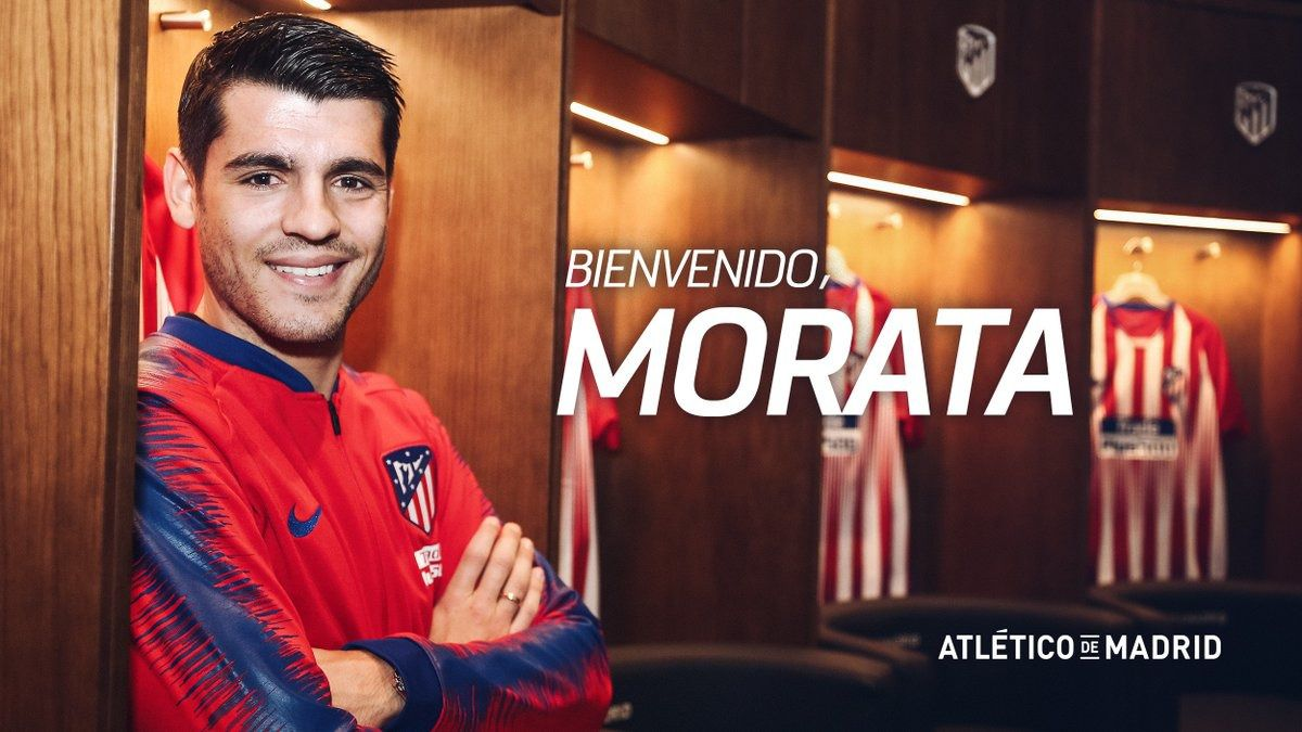 Álvaro Morata ya es jugador del Atlético de Madrid por año y medio