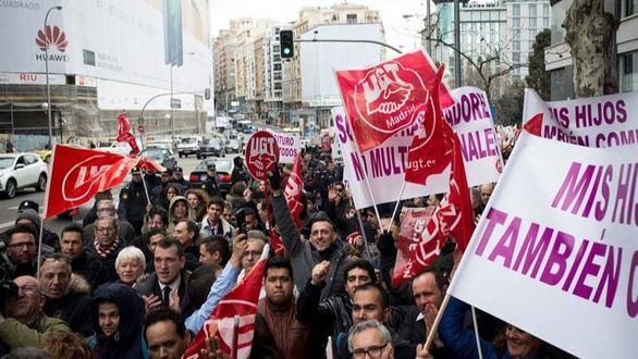 Los conductores de VTC(Vehículos de Transporte con Conductor ) se concentrarán frente a la sede de Podemos en Madrid.