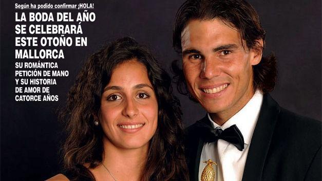 Nadal se casa en otoño con Xisca Perelló, su novia de toda la vida