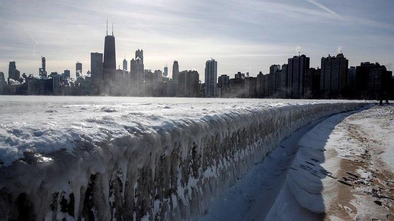 La ola de frío polar se retira de EEUU dejando un saldo de al menos 21 muertos