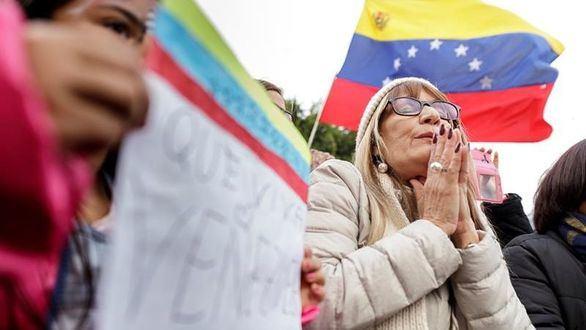 Madrid y Barcelona también protestan contra Maduro